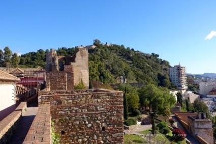 Málaga gamleby, Alcazara