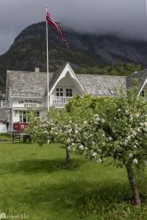 Koselig hage i Eidfjord