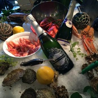 Ferskere sjømat får man ikke! Fra Restaurant Gabriels i Gøteborg