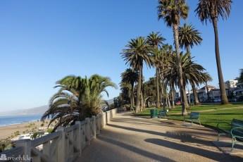 Palisades Park i Santa Monica Los Angeles