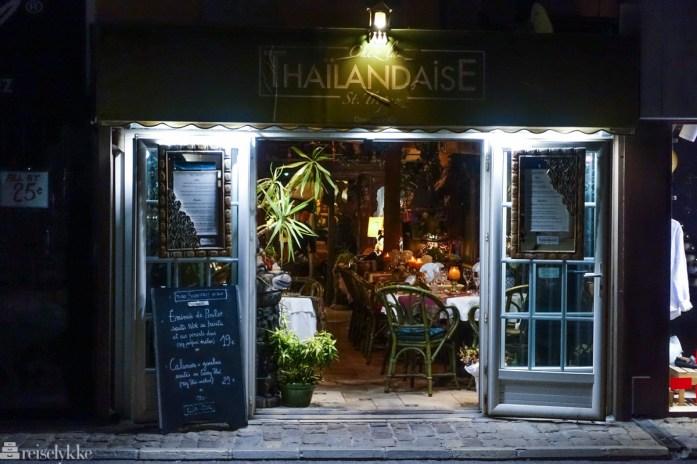 Restaurant i St. Tropez