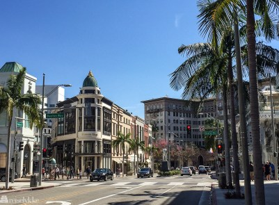 Rodeo Drive i Beverly Hills, Los Angeles