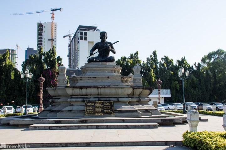 Statue i Phnom Penh