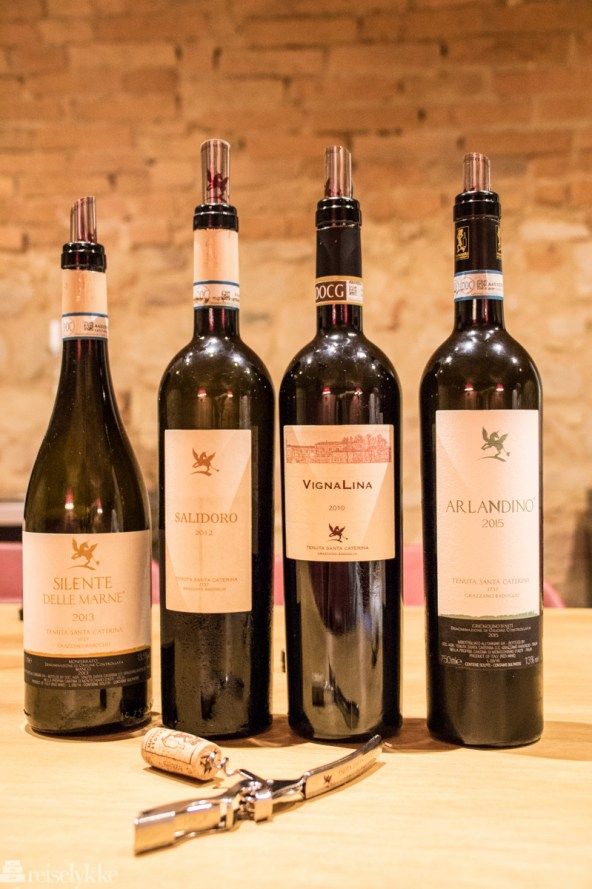 Vinsmaking Tenuta Santa CaterinaVinsmaking Tenuta Santa Caterina
