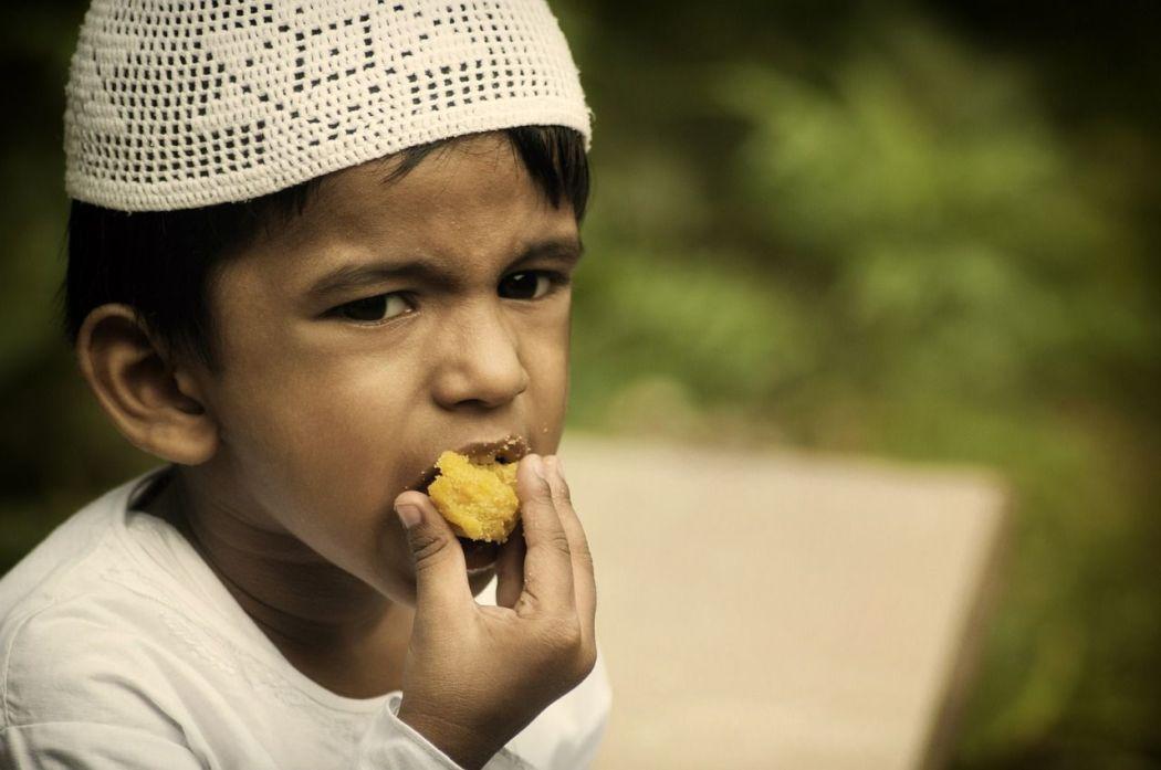 Das Ende des Ramadan ist vor allem für die Kinder ein großes Fest mit vielen Geschenken und Süßigkeiten.