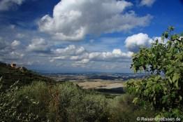 Blick von Montalcino