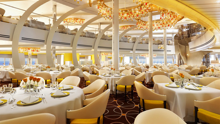 Koningsdam: the Dining Room