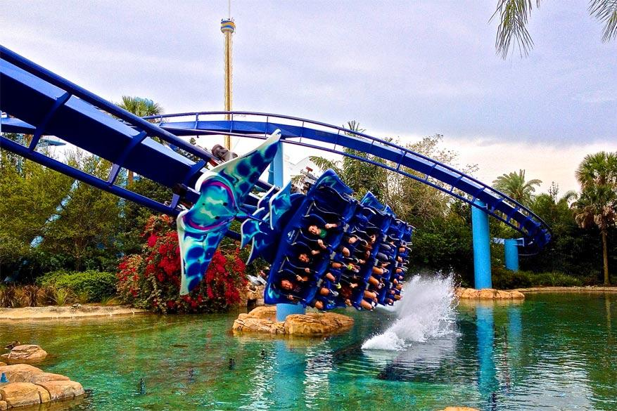 Orlando: de Manta in Seaworld