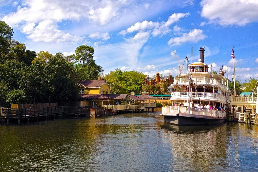 Orlando: Frontierland in Magic Kingdom