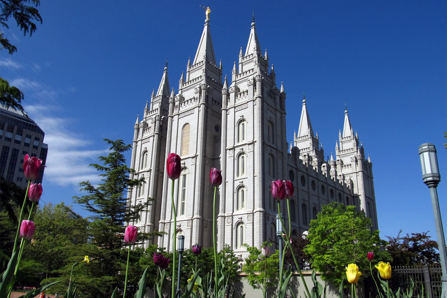 Temple Square in Salt Lake City © Ken Lund via Flickr Creative Commons