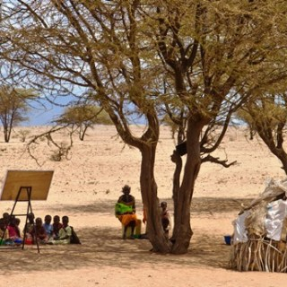 Children learning under trees with minimum or no basic facilities is common yet the country and counties have budgetary allocation for education. [Picture: Courtesy]