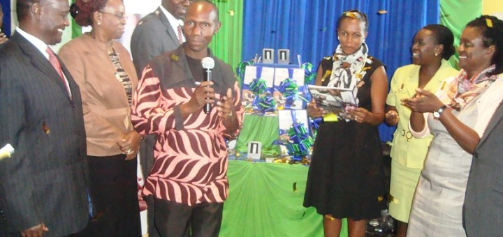 Health providers during the coalition for health research and development launch. [Picture: Henry Owino ]