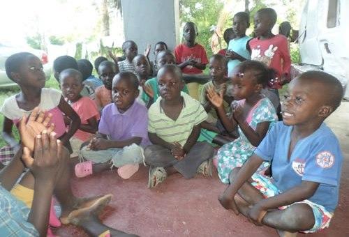 Some of the orphans at the Ebenezer Rescue Centre in Ahero, Kisumu County, Photo Odhiambo Orlale