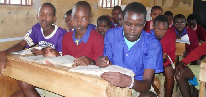 This is how the class of 2007 looked like at Elangata Enterit Boarding Primary School. Photo Joyce Chimbi