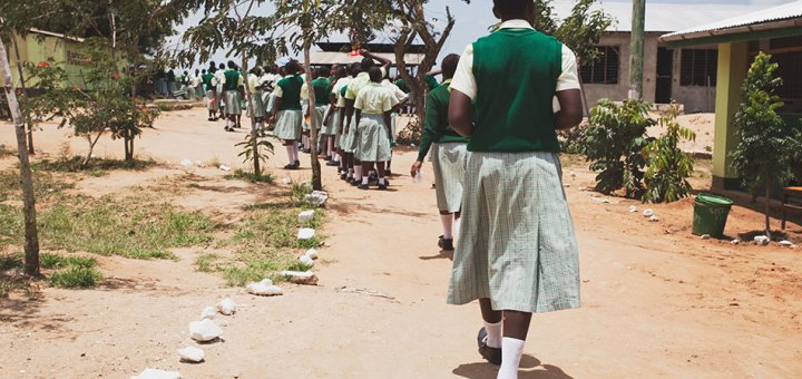 Girls in Ganze Sub-county in Kilifi County face many challenges that affect their academic performance.Picture: Courtesy