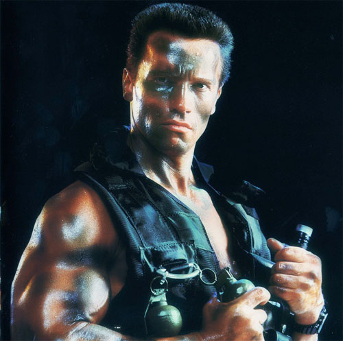 arnold schwarzenegger commando training