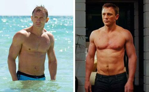 Daniel Craig's Body Transformation in Casino Royale ...