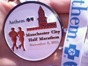 Manchester City Half Marathon race report