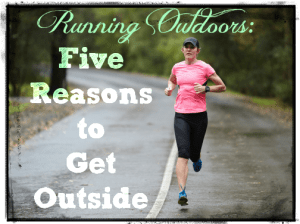 Running outdoors