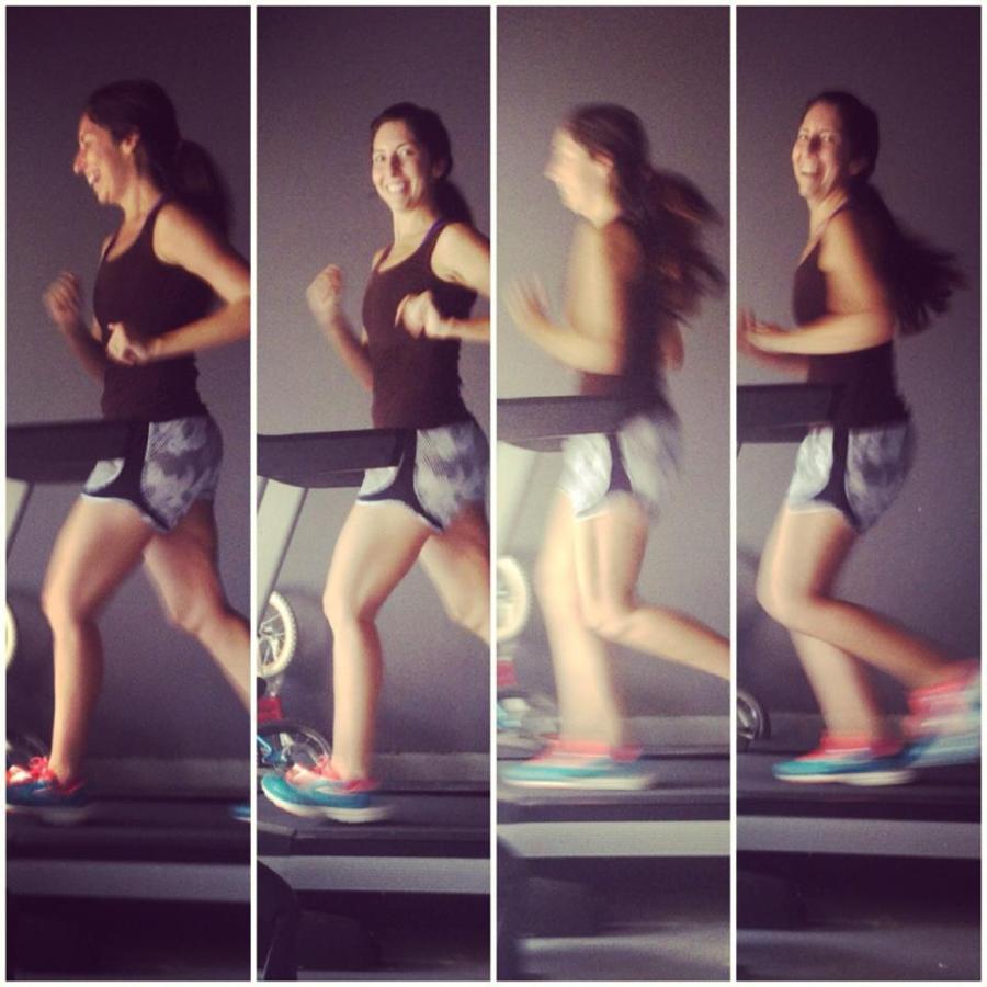 Treadmill Running 1