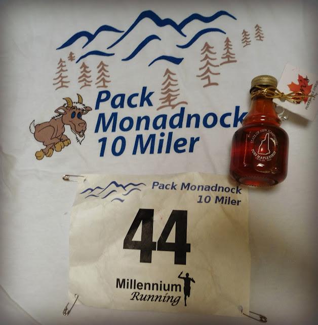 Pack Monadnock 10 Miler