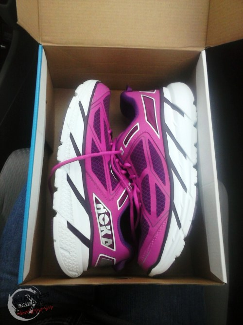 Hoka Cliftons Purple