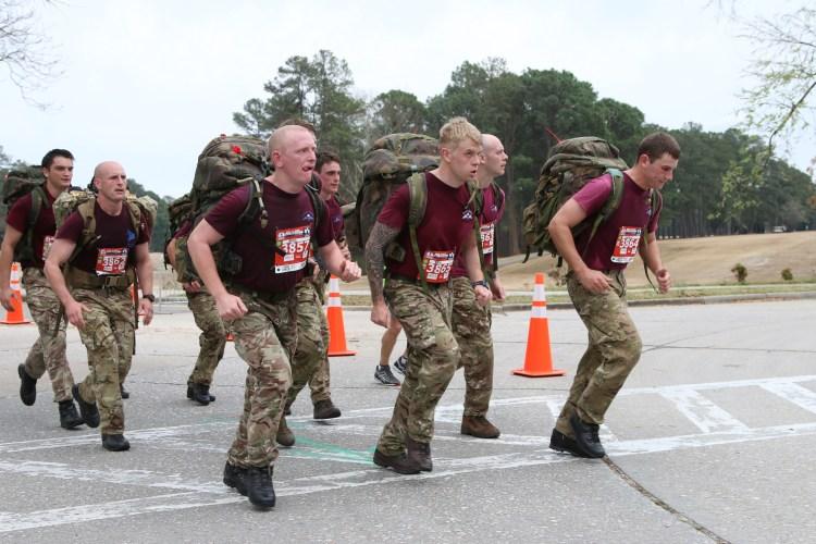 All American Marathon British Paratroopers