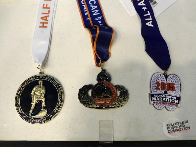 All American Marathon Medals