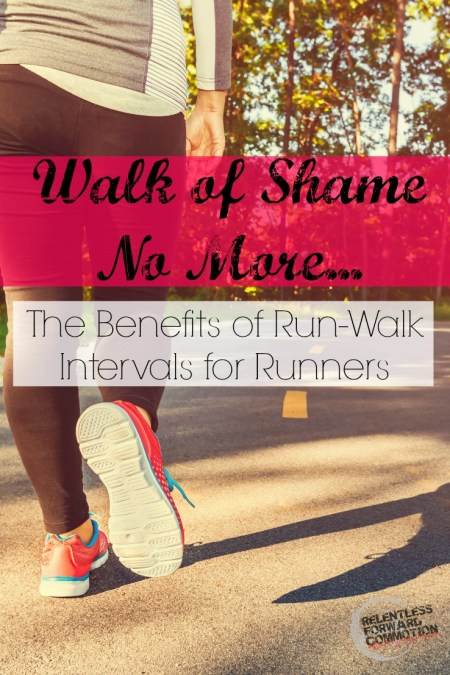 Walk of Shame No More...The Benefits of Run-Walk Intervals for Runners