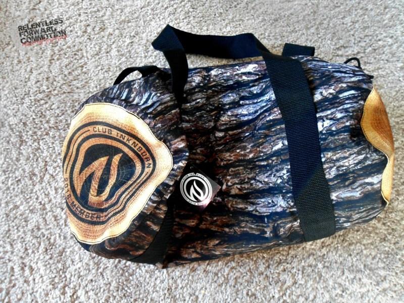 INKnBURN log bag
