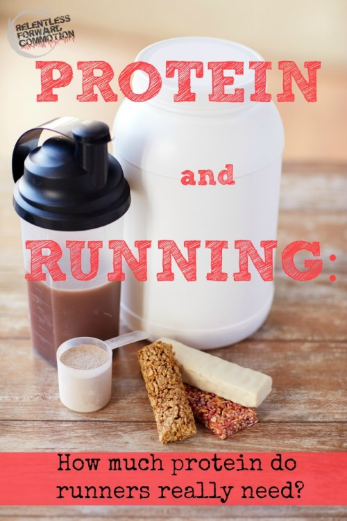 Protein and Running