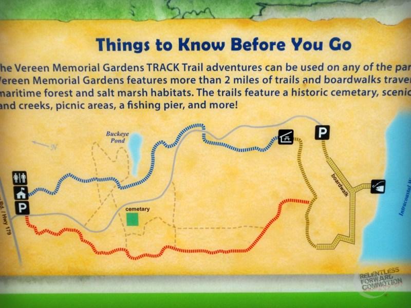 Trail Map Vereen Gardens