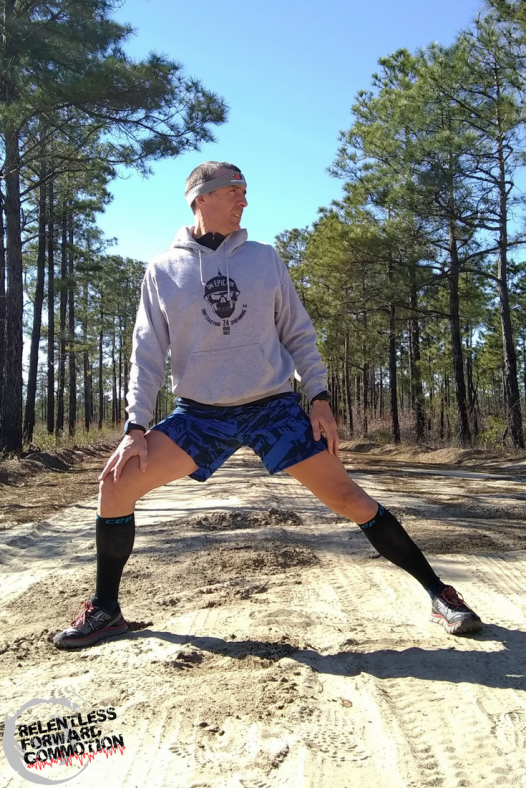 Standing Adductor Stretch (inner thigh)