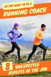So You Want to Be a Running Coach