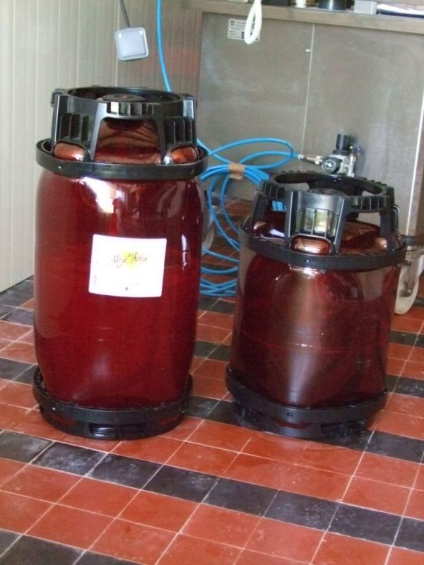 En fûts de 20 et 30 litres
