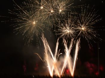 Feu d'artifice. (3)