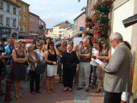 Une initiative généreuse a traduit le maire, Bernard Godfroy