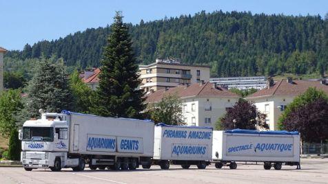 01 arrivée des camions spectacle aquatique (1)