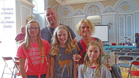 09 vacanciers à Tendon