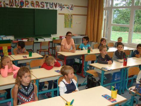 Rentrée scolaire dans le primaire 060