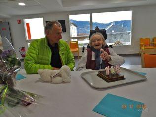 les 103 ans d'une résidente Léon Werth (2)