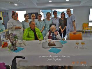 les 103 ans d'une résidente Léon Werth (5)