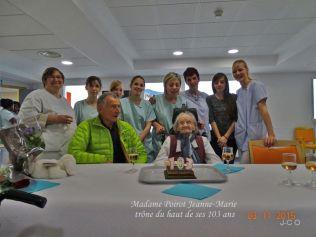 les 103 ans d'une résidente Léon Werth (6)