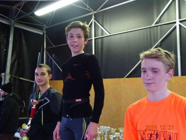 13 podium minimes