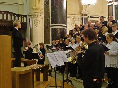 20 Le Choeur et le Brass Band