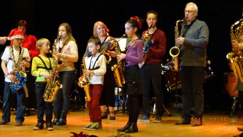 22 Classe de Saxophone