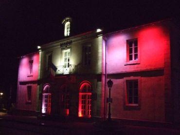 La mairie sous différentes couleurs (1)