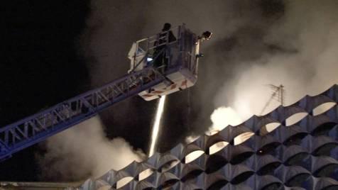 Incendie Darney 28 avril