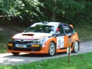 Jean-Bernard STIRLING -Laurence DUCHANOY sur Subaru Impreza WRX