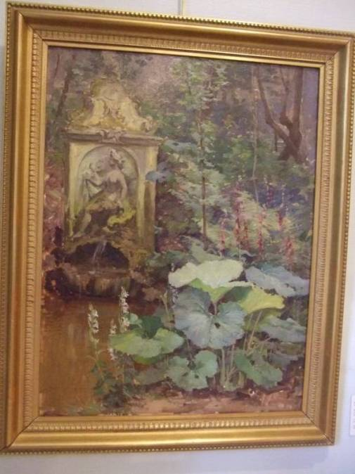 La fontaine d'Amphitrite, 1896, huile sur toile